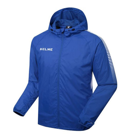 KELME K081 MEN'S WINDPROOF JACKET – ROYAL BLUE
