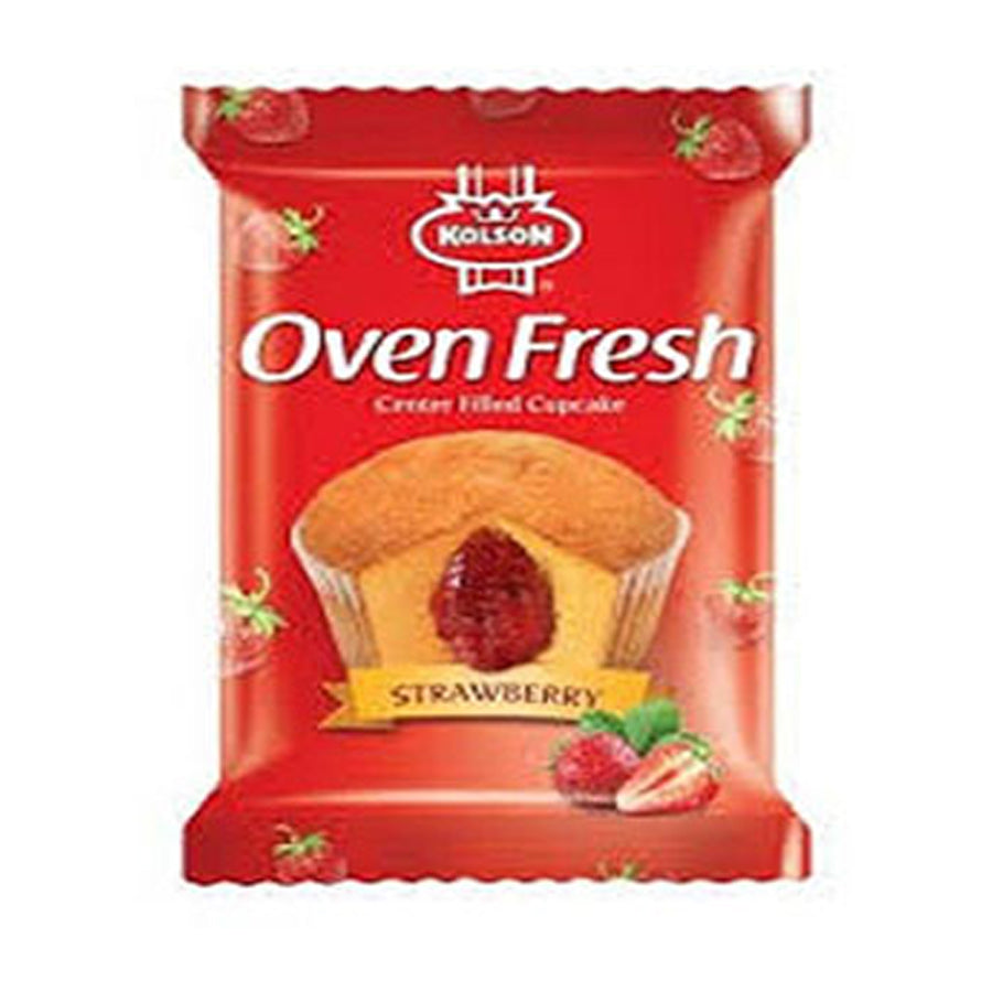 KOLSON OVEN FRESH CUP CAKE STRAWBERRY S/P