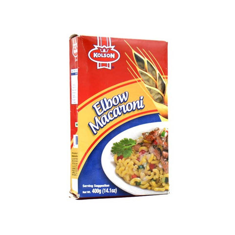 KOLSON MACARONI ELBOW 400 GMS BOX