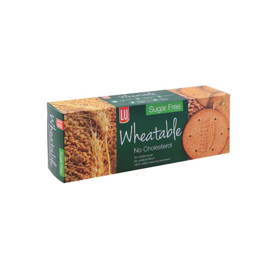 LU WHEATABLE SUGAR FREE BISCUIT F/P