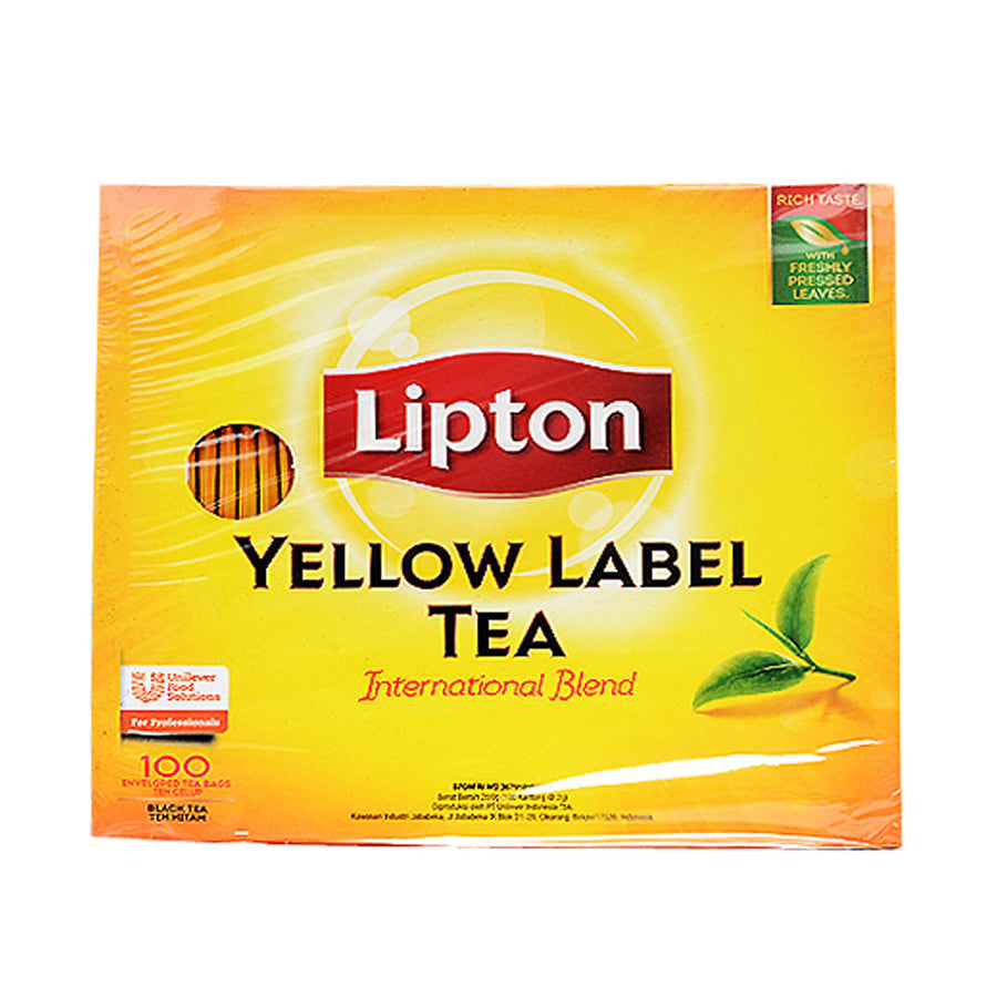 LIPTON YELLOW LABEL TEA BAGS 100 TEA BAGS
