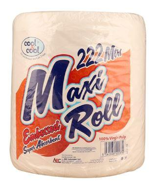COOL & COOL MAXI ROLL 222MTRS WHITE
