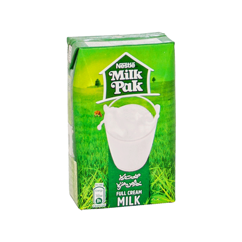 NESTLE MILKPAK FULL CREAM MILK 250 ML