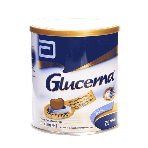 GLUCERNA MILK POWDER VANILLA 400 GM