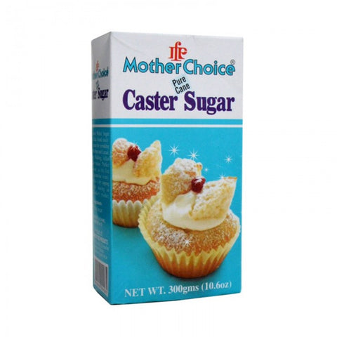 MOTHER CHOICE EXTRA FINE CASTER SUGAR 300 GMS