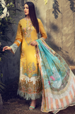 Umang Lawn By Motifz Collection'21  2822-COLZA-GARDEN