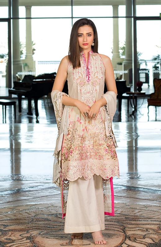 ALZOHAIB Mahiymaan Luxury Lawn Collection'21  MMLL'21-13