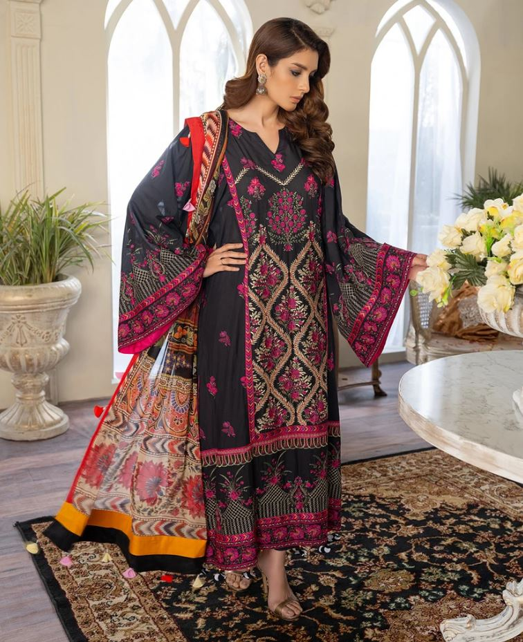 Freesia Premuim Luxury Lawn Collection'21