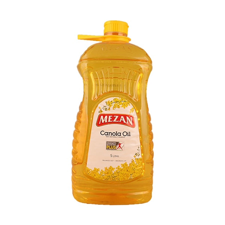 MEZAN CANOLA OIL BOTTLE 5 LITRE