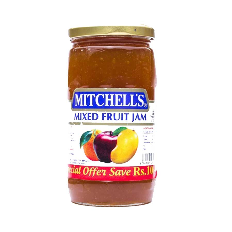 MITCHELL'S MIXED FRUIT JAM 450 GMS