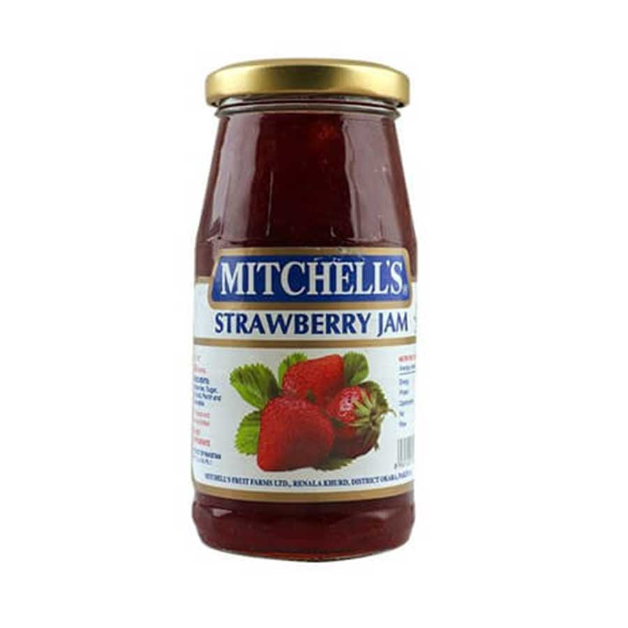 MITCHELL'S STRAWBERRY JAM 340 GMS