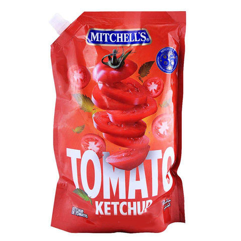 MITCHELL'S TOMATO KETCHUP POUCH 1 KG
