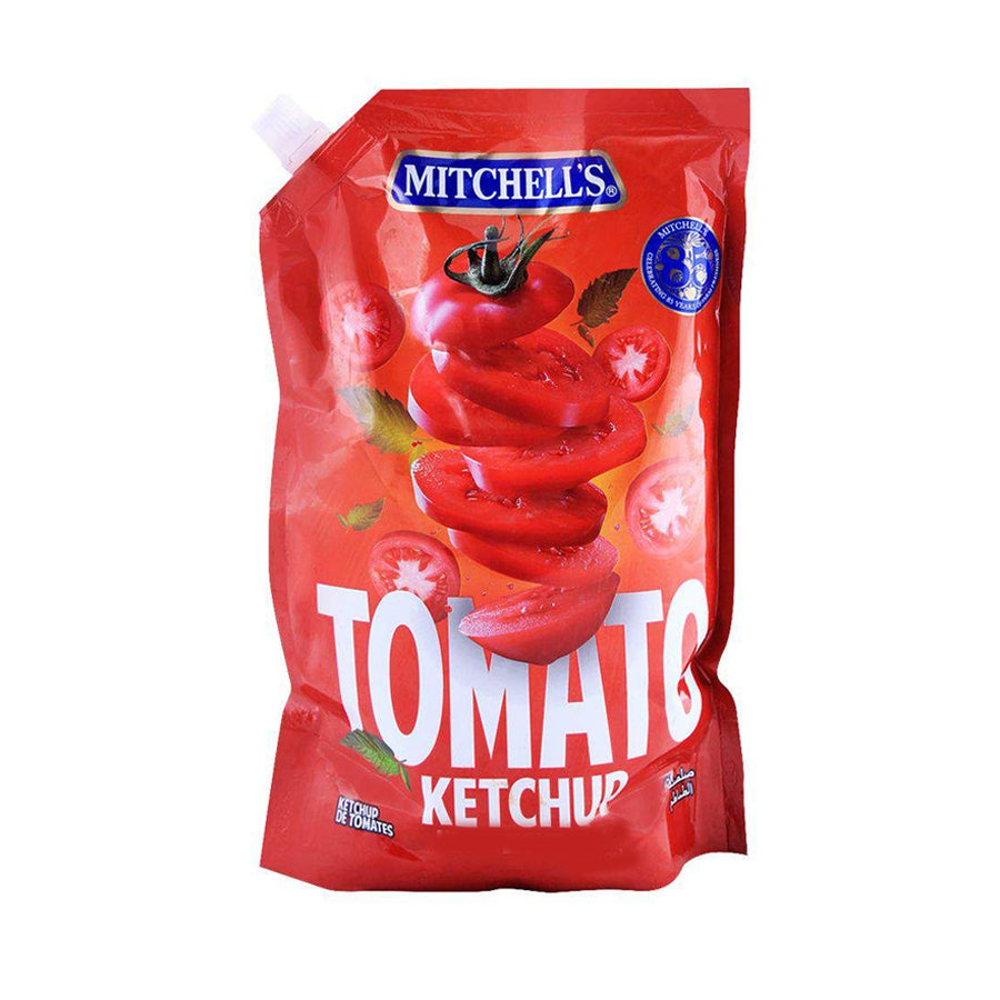 MITCHELL'S TOMATO KETCHUP POUCH 500 GMS