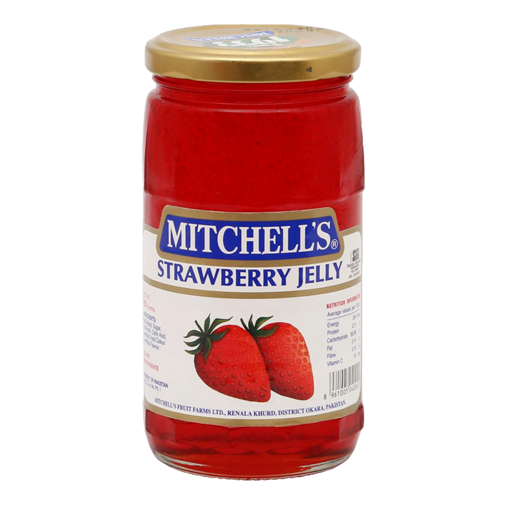 Mitchells Strawberry Jelly jam 450gm