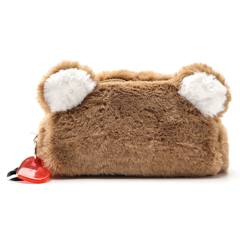 Furry Bear Pencil Case | Funky Fish