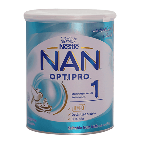 NESTLE NAN 1 MILK POWDER OPTIPRO TIN 900 GM