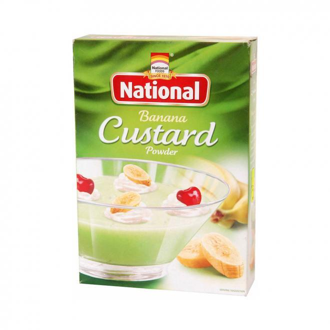 NATIONAL BANANA CUSTARD 120GM