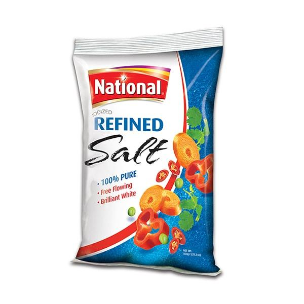 NATIONAL IODIZED TBL SALT 800G