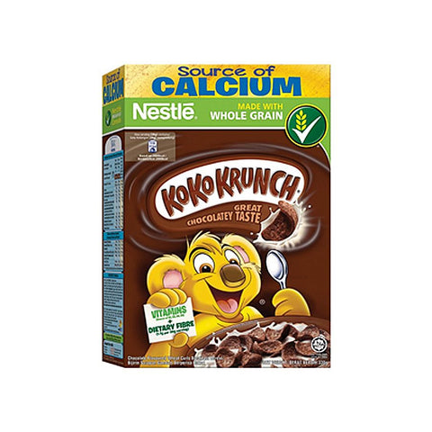 NESTLE KOKO KRUNCH GREAT CHOCOLATEY TASTE 330 GMS