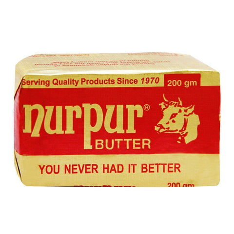 NURPUR BUTTER 200GM
