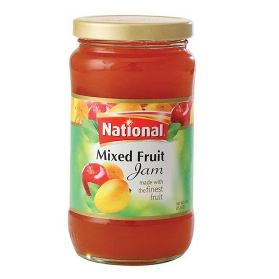 NATIONAL MIXED FRUIT JAM 440 GMS