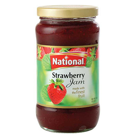 NATIONAL STRAWBERRY JAM 440 GMS