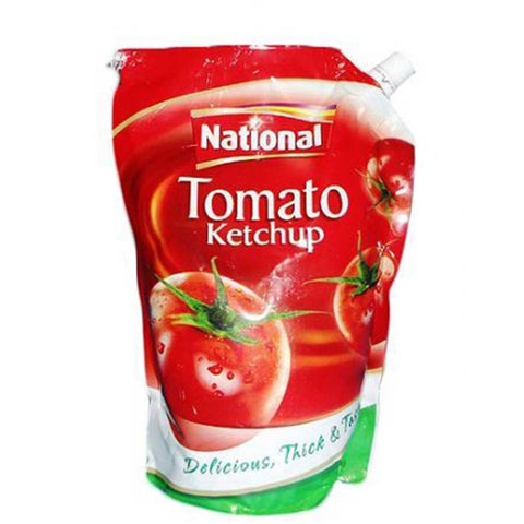 NATIONAL TOMATO KETCHUP POUCH 475 GMS
