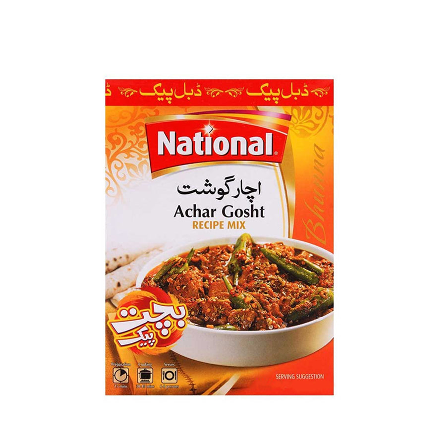 NATIONAL ACHAR GOSHT RECIPE MIX 45 GMS