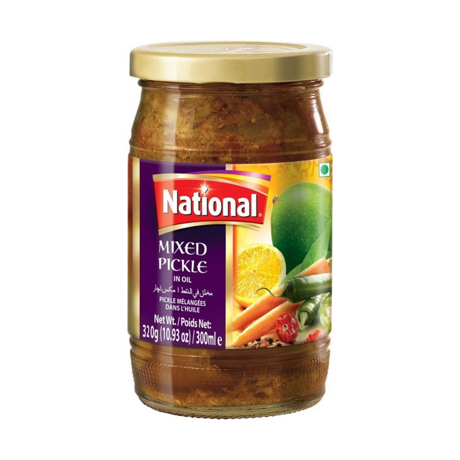 NATIONAL MIXED PICKLE 320 GMS