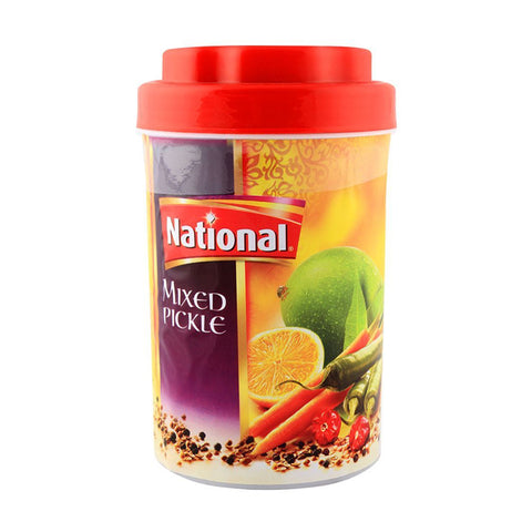 NATIONAL MIXED PICKLE IN OIL JAR 400 GMS
