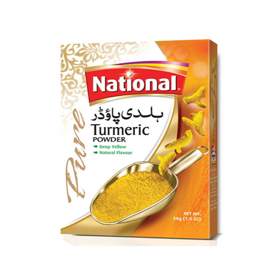 NATIONAL TURMERIC POWDER 50 GMS