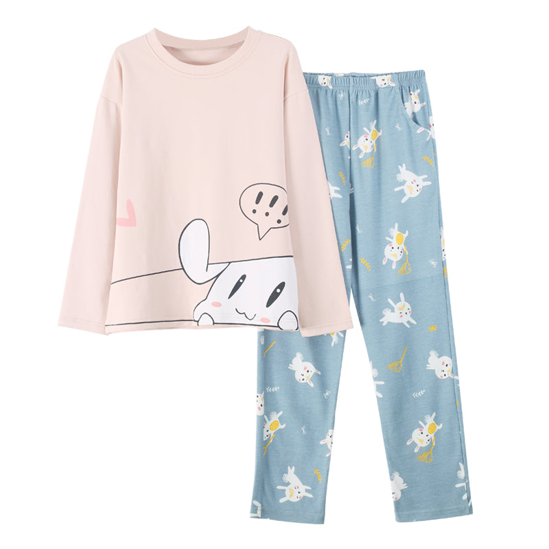 Full Sleeves Round Neck shirt & Pajama Sleepwear
