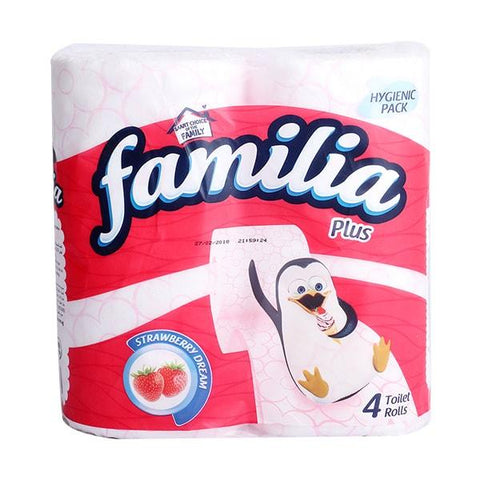FAMILIA PLUS 2 PLY PERFUMED (STRAWBERRY)
