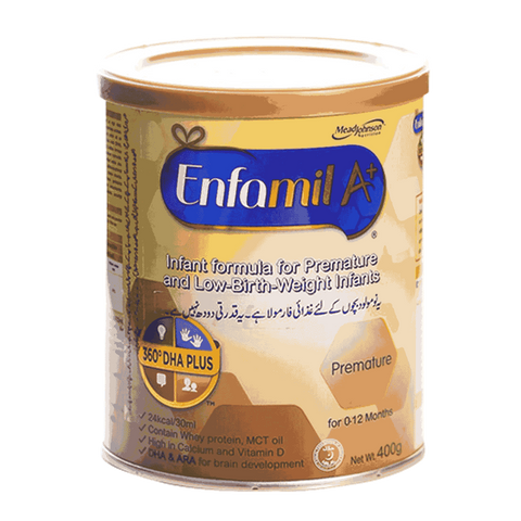 ENFALAC A+ PREMATURE FORMULA MILK 400 GM