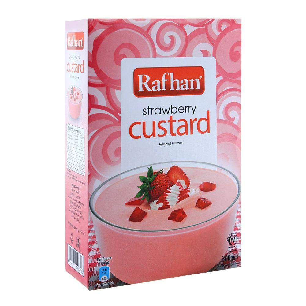 RAFHAN STRAWBERRY CUSTARD 50G