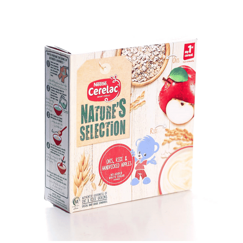 NESTLE CERELAC OATS RICE & HANDPICKED APPLES 175 GM