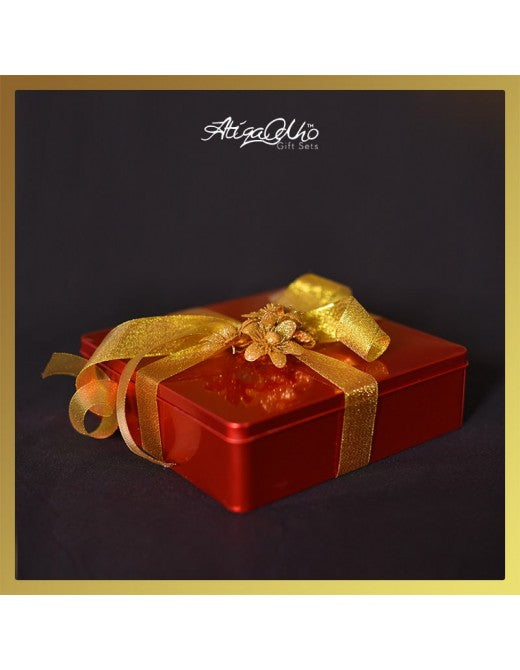 Atiqa Odho Red Bridal Gift Box PRODUCT CODE: 0001A