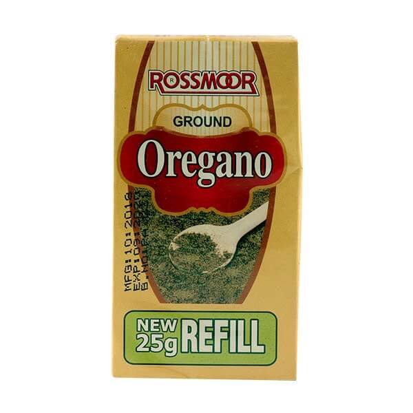 ROSSMORE OREGANO GROUND 25GMS
