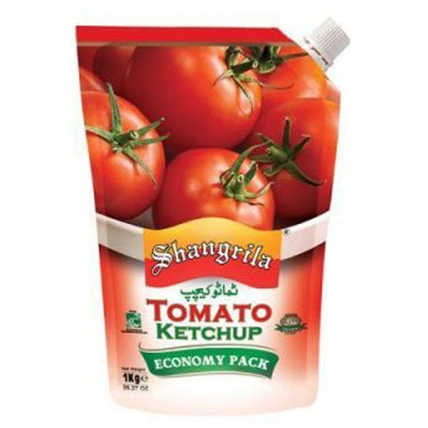 SHANGRILA TOMATO KETCHUP POUCH 950 GMS