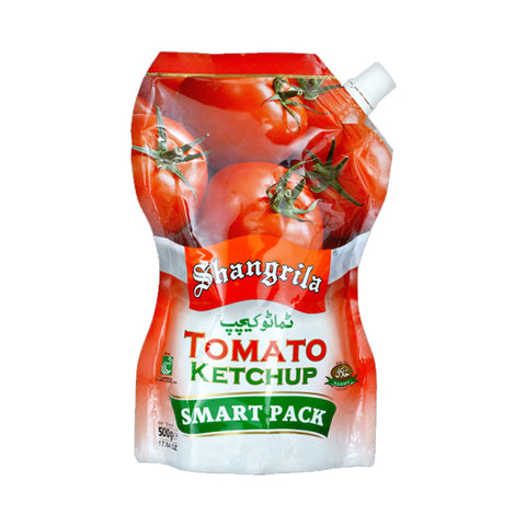 SHANGRILA TOMATO KETCHUP POUCH 475 GMS
