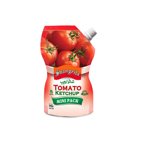 SHANGRILA TOMATO KETCHUP POUCH 235 GMS