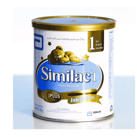SIMILAC 1 MILK POWDER INTELLI PRO 400 GM