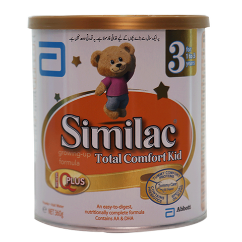 SIMILAC MILK POWDER TOTAL COMFORT KID STAGE 3 360 GM
