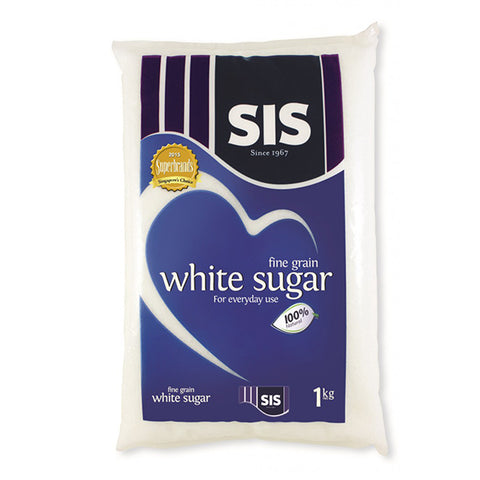 FINE FOOD WHITE SUGAR 1KG