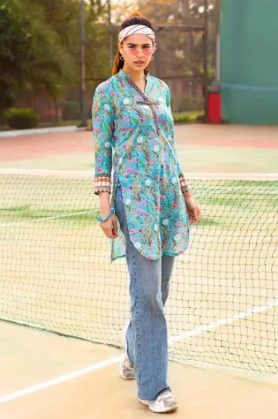 Gul Ahmed Bagh-e-Gul Lawn Collection'21 SL-943 A
