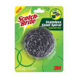 SCOTCH BRITE STAINLESS STEEL SPIRAL SINGLE