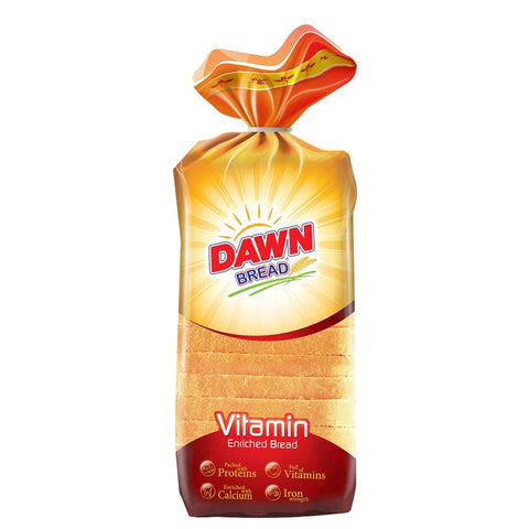 DAWN WHITE BREAD STANDARD 350 GM
