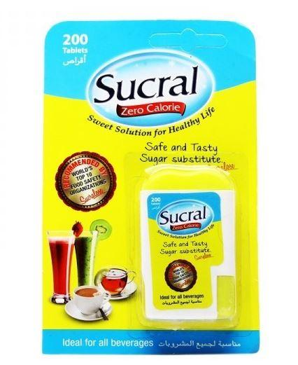 SUCRAL SWEETENER TABLETS 200