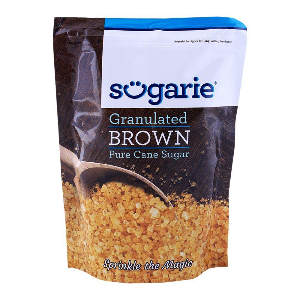 SUGARIE GRNULTD BROWN SUGAR 500G