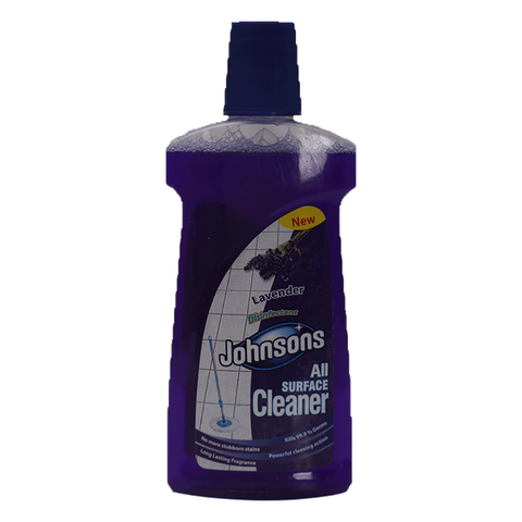 JOHNSONS ALL SURFACE CLEANER LAVENDER DISINFECTANT 500 ML
